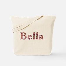 Bella Pink Flowers Tote Bag