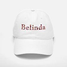 Belinda Pink Flowers Baseball Baseball Baseball Cap