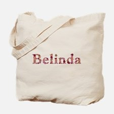 Belinda Pink Flowers Tote Bag