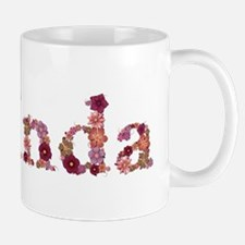 Belinda Pink Flowers Mugs