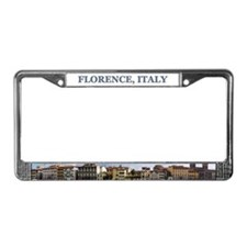 Florence Panoramic - License Plate Frame
