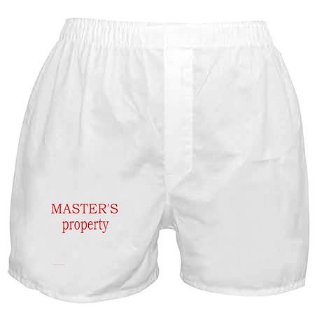 Master's Boxer Shorts