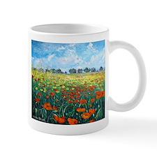 Poppy Field Mugs