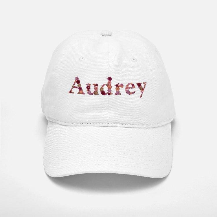Audrey Pink Flowers Baseball Baseball Baseball Cap