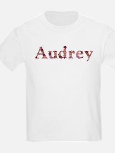 Audrey Pink Flowers T-Shirt