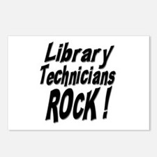 Library Techs Rock ! Postcards (Package of 8)