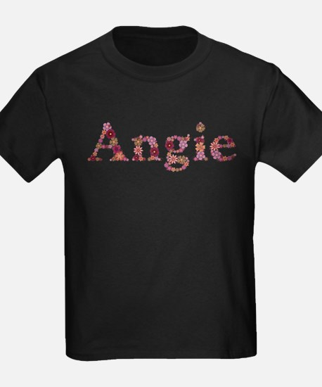 Angie Pink Flowers T-Shirt