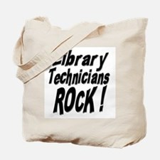 Library Techs Rock ! Tote Bag