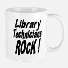 Library Techs Rock ! Mug