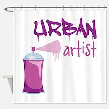 Urban Artist Shower Curtain