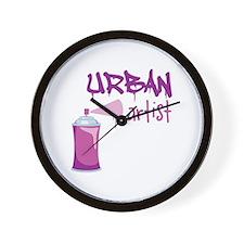 Urban Artist Wall Clock