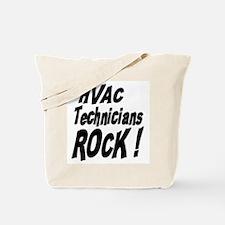 HVAC Techs Rock ! Tote Bag