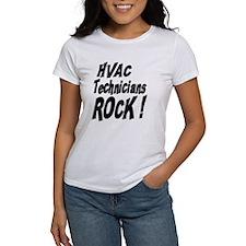 HVAC Techs Rock ! Tee