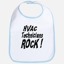 HVAC Techs Rock ! Bib