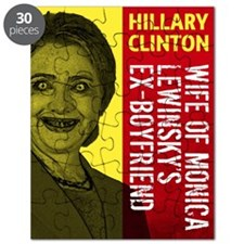 Hillary Clinton Is Scary Puzzle