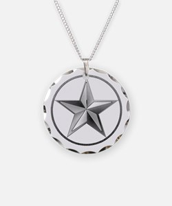 Silver Lone Star Necklace