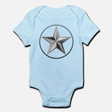 Silver Lone Star Body Suit