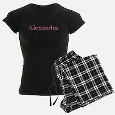 Alexandra Pink Flowers Pajamas