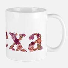Alexa Pink Flowers Mugs