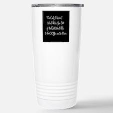 Naughty: F*ck on the floor Travel Mug
