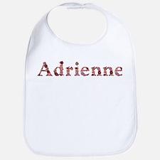 Adrienne Pink Flowers Bib