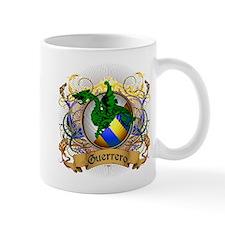 Guerrero Family Crest Small Mug