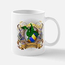 Guerrero Family Crest Small Small Mug