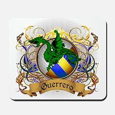 Guerrero Family Crest Mousepad