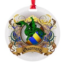 Guerrero Family Crest Ornament