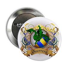 "Guerrero Family Crest 2.25"" Button"