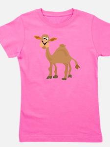Funny Camel Art Girl's Tee