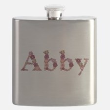 Abby Pink Flowers Flask