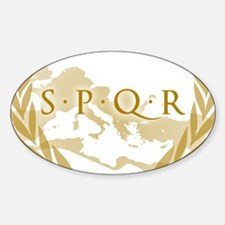 Roman Empire Banner SPQR Decal