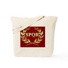 Roman SPQR Banner  Tote Bag