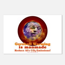 Gorebull Global Warming Postcards (Package of 8)