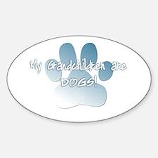 mygrandchildren_dog Decal