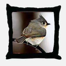 Happy Songbird Throw Pillow
