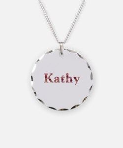 Kathy Pink Flowers Necklace