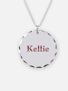 Kellie Pink Flowers Necklace