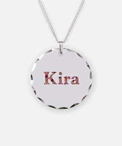 Kira Pink Flowers Necklace