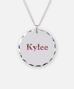 Kylee Pink Flowers Necklace