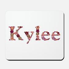 Kylee Pink Flowers Mousepad
