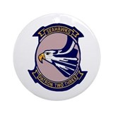 Patrol squadron Round Ornaments