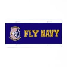 VP 23 Sea Hawks Aluminum License Plate