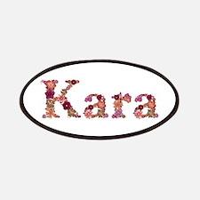 Kara Pink Flowers Patch