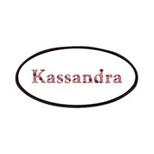 Kassandra Pink Flowers Patch