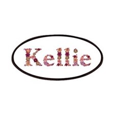 Kellie Pink Flowers Patch