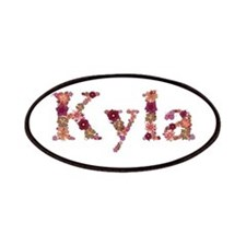 Kyla Pink Flowers Patch