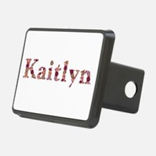 Kaitlyn Pink Flowers Hitch Cover