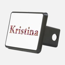 Kristina Pink Flowers Hitch Cover